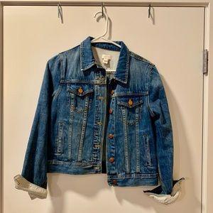 J Crew Denim Jacket - Size S